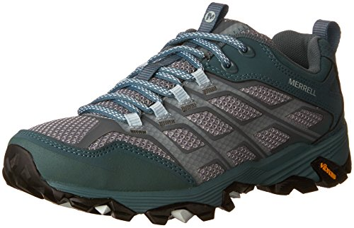 Merrell Women Sea Pine Moab Fst Hiking Shoe, 9.5 B(M) US by Merrell