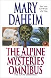 Front cover for the book The Alpine Christmas by Mary Daheim
