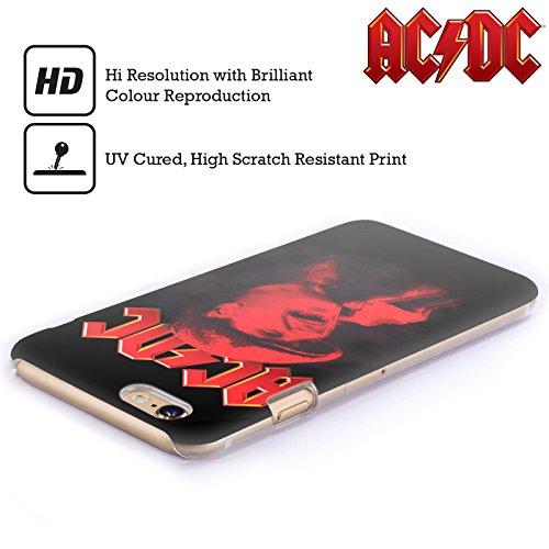 Officiel AC/DC ACDC Brian Johnson Rouge Solo Étui Coque D'Arrière Rigide Pour Apple iPhone 6 Plus / 6s Plus