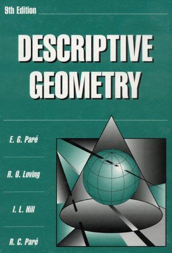 Pdf Math Descriptive Geometry (9th Edition)