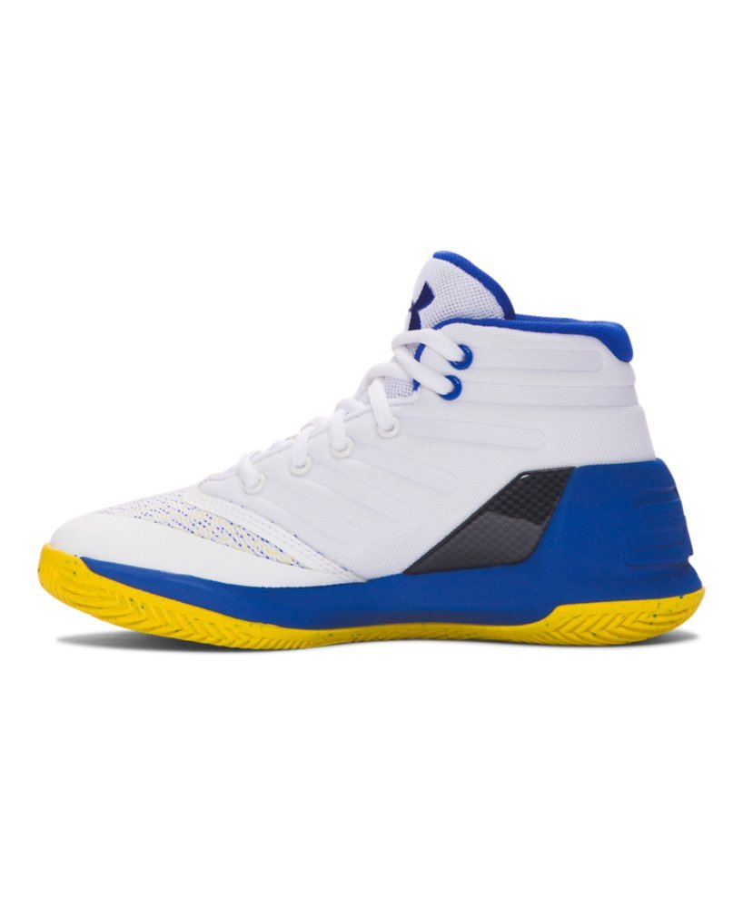14919f89f778 Galleon - Under Armour Pre-School UA Curry 3 Basketball Shoes 12K Dub  Nation Home