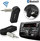 SoundBuddy Presents Attractive Car Bluetooth 3.5 mm jack Wireless BT Receiver Adaptor AUX Audio Stereo Music Car Kit Best fit with your all Car Models & Compatible with iBall Andi4a Projector