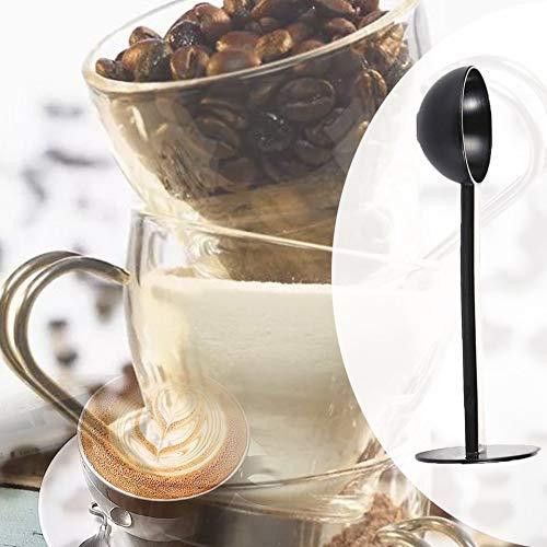 2-in-1 Espresso Coffee Bean Tea Spoon Tools Professional Measuring 10g Tamping Scoop Tamper Coffee Tea Kitchen Tool-Coffee