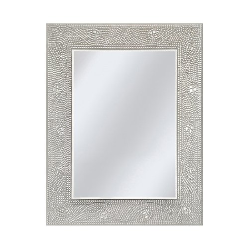 Silver Framed Mirror Amazon Com