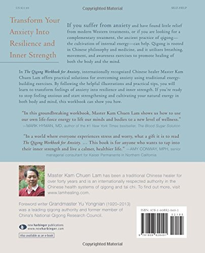 The Qigong Workbook for Anxiety: Powerful Energy Practices to ...