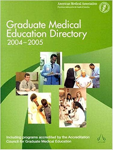Graduate Medical Education Directory 2004-2005