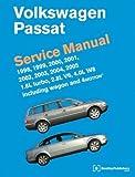 Volkswagen Passat Service Manual: 1998, 1999, 2000, 2001, 2002, 2003, 2004, 2005 1.8L Turbo, 2.8L V6, 4.0L W8 including Wagon and 4Motion (2007-01-12)