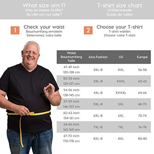 Une Conçus Hommes Spécialement b Classic Avec Fashion Taille b 112 En Blanc Pour Tailles Cm Xl » « Des Les 8xl shirts Tshirts 178 Encolure ® T V Alca v1ZqnaHn