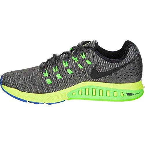 Nike Womens Air Zoom Structure 19 Scarpe Da Corsa Grigio Scuro / Blu Laguna / Bullone / Nero