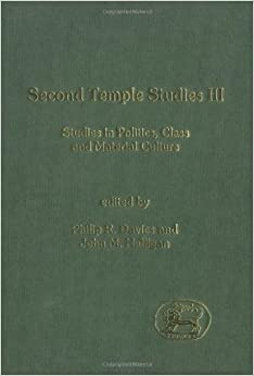 Second Temple Studies: Literature and Society in the Persian, Hellenistic and Roman Periods v.3: Literature and Society in the Persian, Hellenistic ... the Study of the Old Testament Supplement)