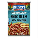 Kuners Pinto Beans with Jalapenos -- 15 oz