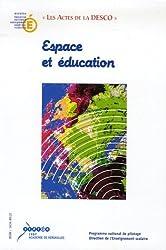 Espace et éducation
