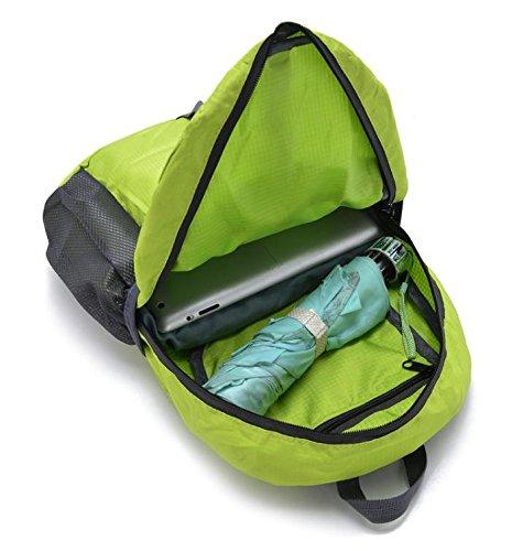 HCLHWYDHCLHWYD-Plegables ligeros bolso hombres nylon resistente al agua deporte al aire libre mochila bolsa de senderismo , 7 1