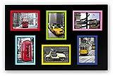 ZEP S.r.l AF006 Stintino Multi Vues 6 Photos Bois 10 x 15