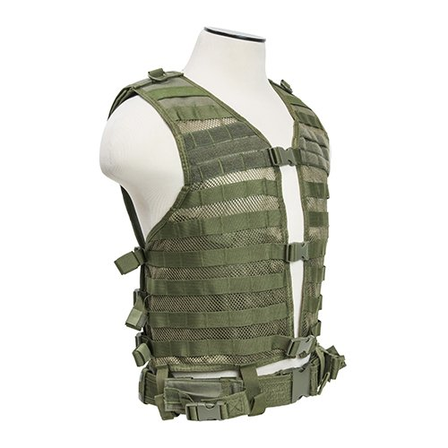 VISM by NcStar Molle/Pals Vest/Green (CPV2915G)