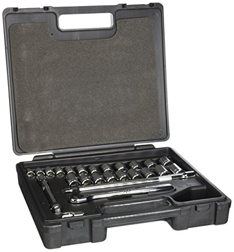 Blackhawk By Proto 978225M Drive 25-Piece Metric Combination Set Containing 3/8, 1/2-Inch Sockets