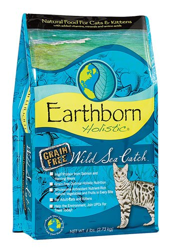 Earthborn Holistic Wild Sea Catch Natural Cat & Kitten Dry F