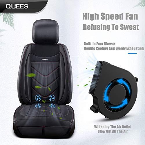 Amazon.com: Fundas de asiento de coche con ventilador de ...