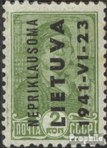 Prophila Collection Litauen (Dt.BES.2.WK.) 1-9 (kompl.Ausg.) 1941 Nepriklausoma (Briefmarken für Sammler)