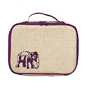 soyoung purple elephant insulated lunch box kitchen dining. Black Bedroom Furniture Sets. Home Design Ideas