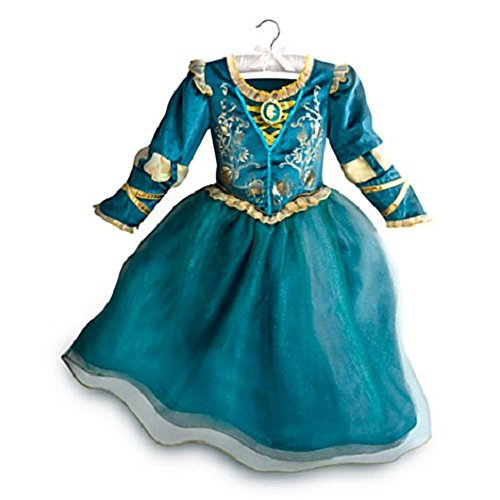 [DISNEY STORE BRAVE PRINCESS MERIDA FORMAL DRESS GOWN COSTUME FALL 2015 (9/10)] (Disney Brave Costume)