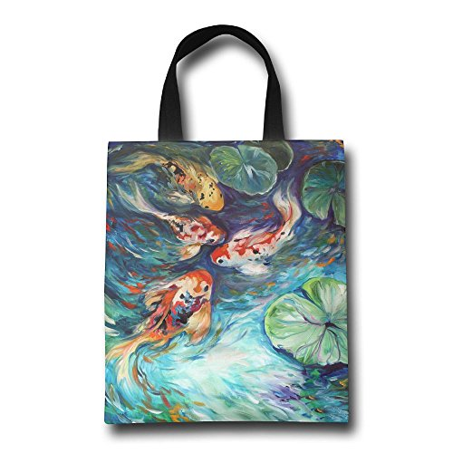 Handle Shopping Personalized Tote Bag Colorful Bags GJOHKRT Dancing Fishes BzUWwSwqT