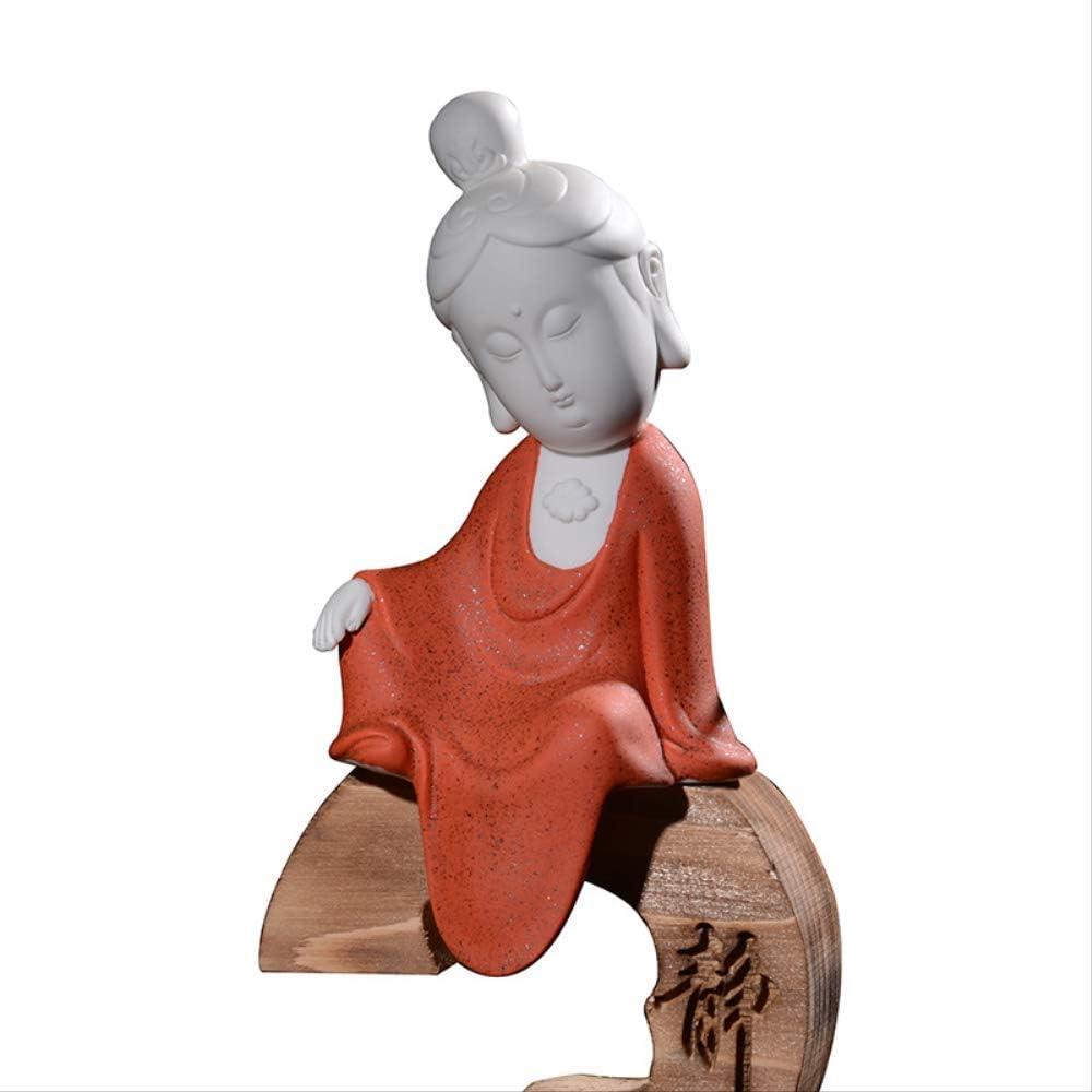 KUAQI Adorno Decoración Estatuilla Estatuaquemador De Incienso ...