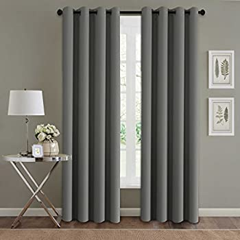hversailtex blackout thermal insulated room darkening winow treatment extra long curtains drapes