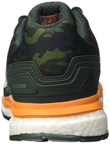 adidas Response 2 Graphic, Scarpe da Corsa Uomo Multicolore (Mingre/Eqtora/Cblack)