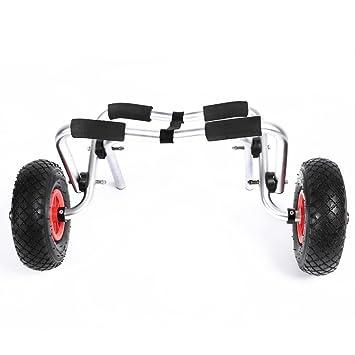 Yahee Carro de Kayak Carretilla Plegable Carro de Transporte Capacidad 100Kg con Ruedas Carro Aluminio: Amazon.es: Deportes y aire libre