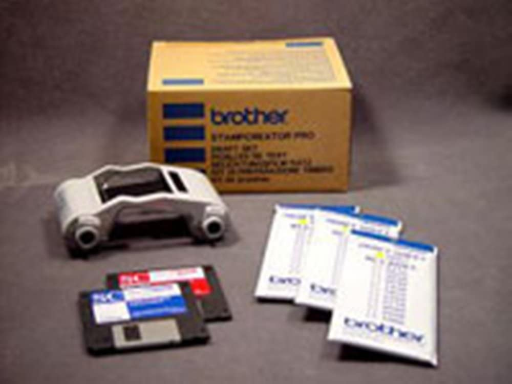 B00006HTKJ Brother PRDRFTN Pro Model Stamp Draft Set for use with SC-2000 or SC-2000USB Stampcreator Pro Systems, Includes Super Fine Ribbon Cassette and 150 Draft Sheets 5169aQzj8mL.SL1000_