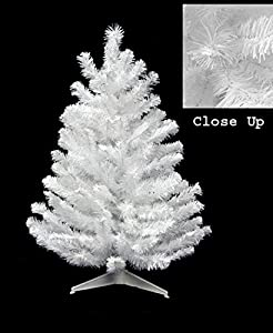 3 snow white pine artificial christmas tree unlit - White Christmas Trees On Sale