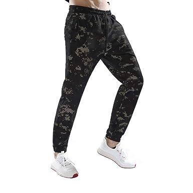 Logobeing Pantalones de Camuflaje Chandal Algodon Hombre Casual ...