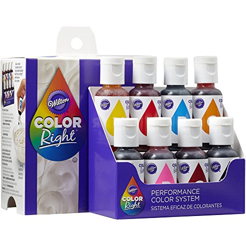 Wilton Color Right Performance Color System, Cake Decorating (Wilton Pastel)