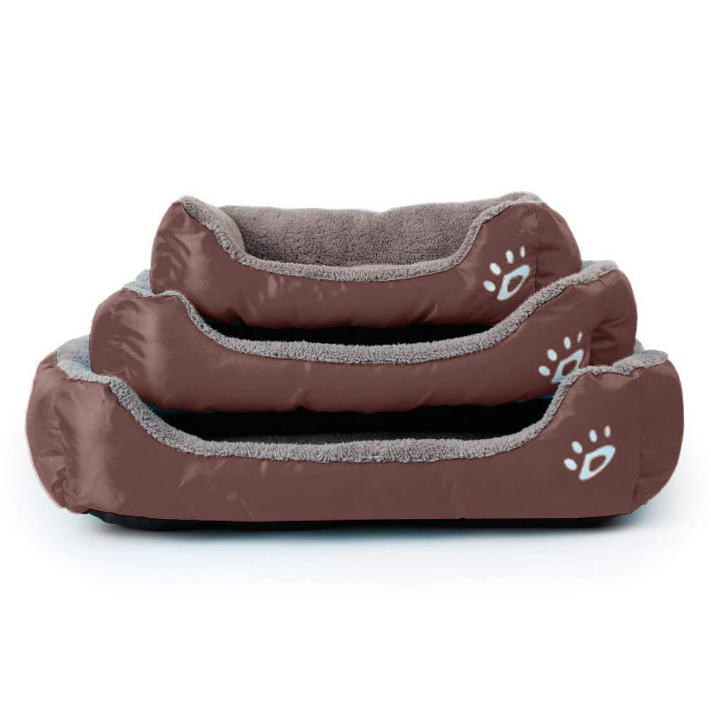 LA VIE Sofá Cama para Perro Impermeable en la Base Cojín Cama Cómoda y Suave para Mascotas Cesta para Gatos Cachorros Perros Pequeños y Medianos S ...