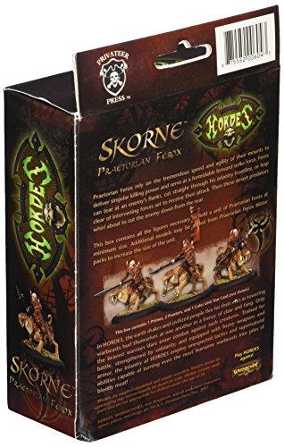 Privateer Press - Hordes - Skorne: Ferox Cavalry Unit Box Model Kit 4