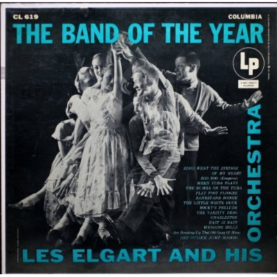 Les Elgart And His Orchestra: The Band Of The Year [Vinyl LP] [Mono] by Columbia