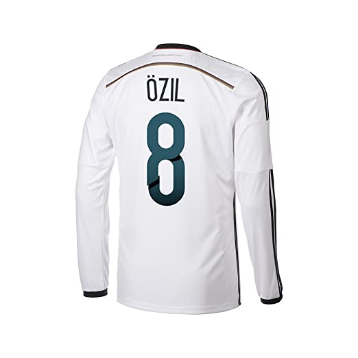lowest price ea29d 39ce9 Amazon.com : adidas Ozil #8 Germany Home Jersey World Cup ...
