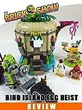LEGO Angry Birds Bird Island Egg Heist Review : LEGO 75823