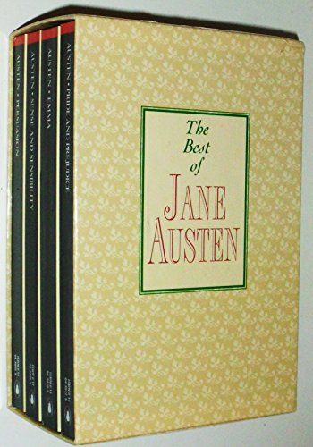 The Best of Jane Austen: Boxed Set ~ Persuasion, Pride and Prejudice, Sense and Sensibility, & Emma (The Best Of Jane Austen)