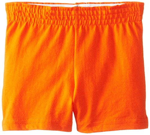 Soffe Youth Girls' Authentic Shorts, Orange, X-Small by Soffe
