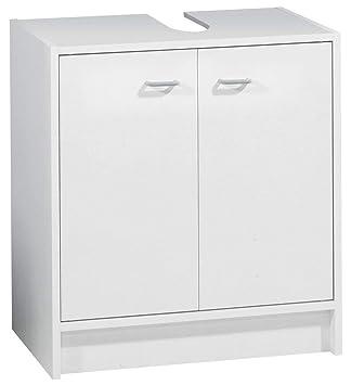 Fackelmann Standard Waschbecken Unterschrank 50 Cm Weiss Amazonde
