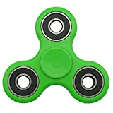 SMAZ LIFE Anti-Anxiety Fidget Spinner Toy Helps Focusings EDC Focus Toy for Kids & Adults - Best Stress Reducer Relieves ADHD Anxiety and Boredom Green
