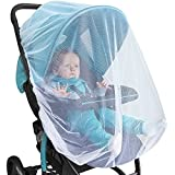 Baby : BABY MOSQUITO NET For Stroller, Car Seat & Bassinet – PREMIUM Infant Bug Protection For Jogger, Carrier & Pack N Play – Toddler Insect Shield Canopy & Gift Packaging