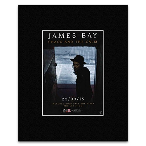 JAMES BAY - 2015 Album titled: Chaos and the Calm Mini Poster - 28x21cm