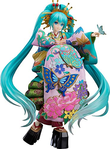 Good Smile Character Vocal Series 01: Hatsune Miku (Chokabuki Kuruwa Kotoba Awase Kagami Version) 1:7 Scale PVC Figure