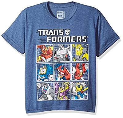 Transformers Big Boys' Autobots Grid T-Shirt