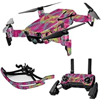 MightySkins Skin for DJI Mavic Air Drone - Magenta Summer | Max Combo Protective, Durable, and Unique Vinyl Decal wrap cover | Easy To Apply, Remove, and Change Styles | Made in the USA