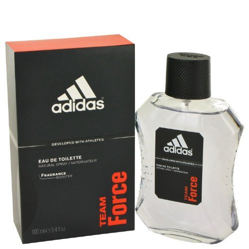 Adidas Team Force By Adidas For Men, Eau De Toilette Spray, 3.4-Ounce Bottle