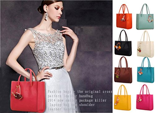 Handbag Handbag Shoulder Purse Purse Orange Satchel Messenger Hobo Bag Tote Coin Woman Faionny Bags 6ZFxRqx